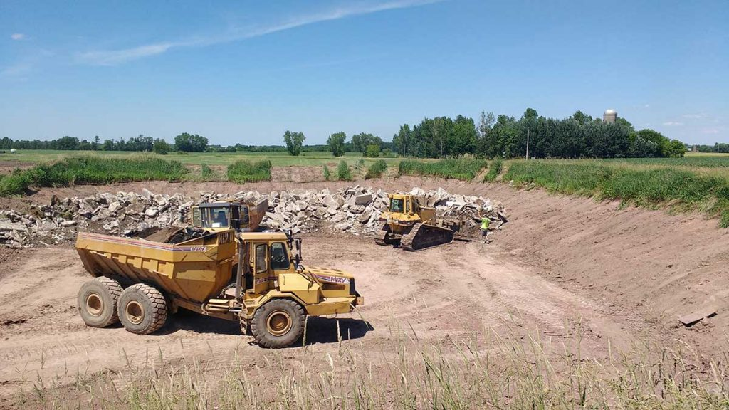 Manure pit closures